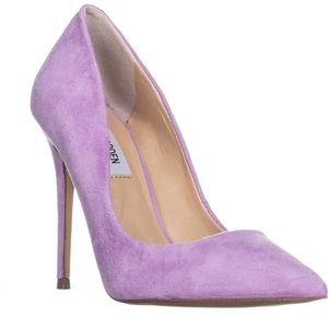 Lavender Pointed-Toe Pumps